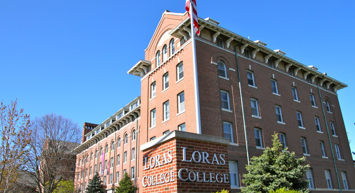 Loras College Campus in Dubuque